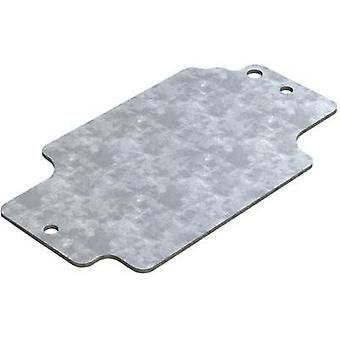 Mounting plate (L x W) 114.7 mm x 64.3 mm Steel plate Deltron Enclosures 1 pc(s)