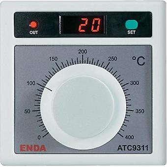 Temperature controller Enda ATC9311 J 0 up to +400 °C 2 A relay (L x W x H) 50 x 96 x 96 mm