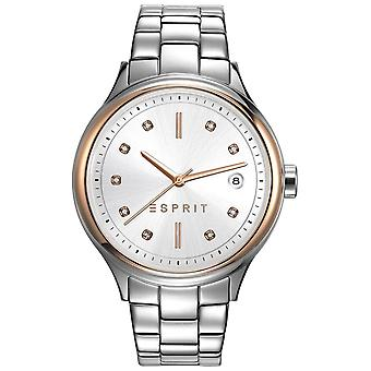 ESPRIT ladies watch Caroline silber wristwatch stainless steel ES108552001