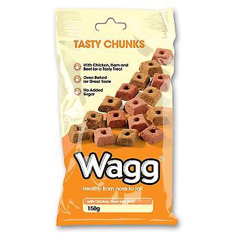 Wagg velsmagende bidder 150g (pakke med 7)