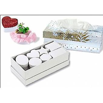 15 Rigid Card Boxes - White - Great Selection of Shapes | Cardboard Gift Boxes