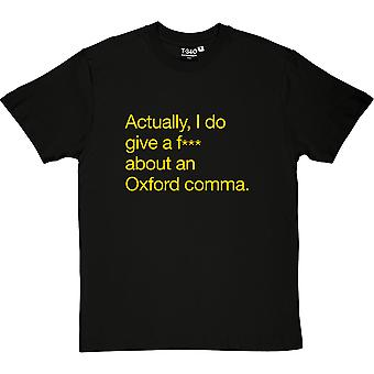 Oxford Comma Men's T-Shirt