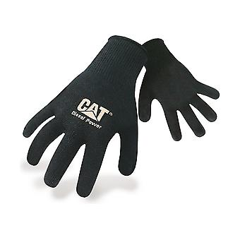 Caterpillar 17408 Heavy Knit Workwear Male Gloves Black