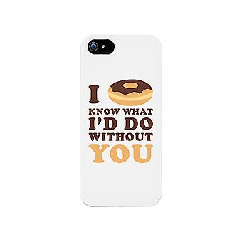 I Doughnut Know Phone Case