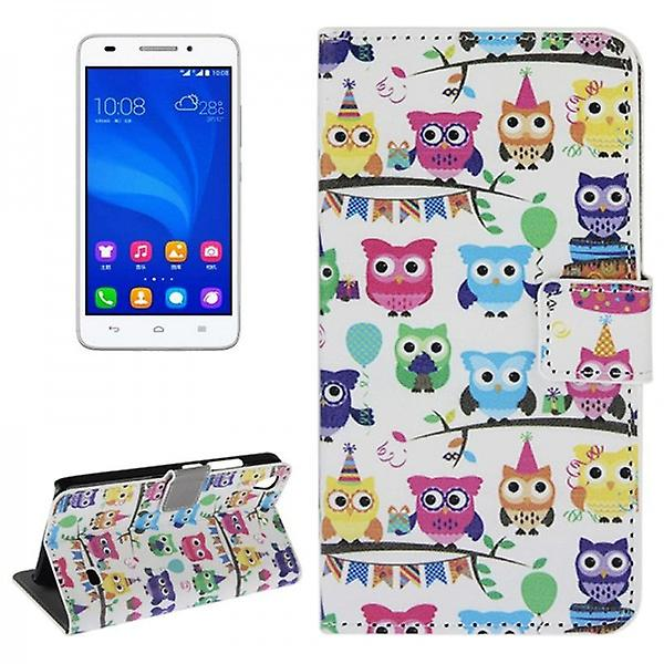 Pocket Wallet Premium pattern 45 for Huawei Ascend G620S