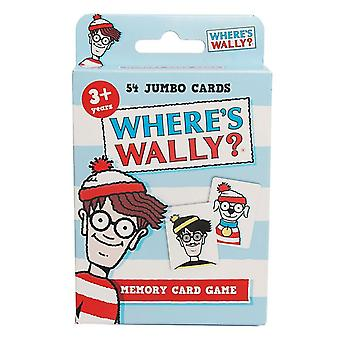 Where's Wally Memory Card Game Wanda Woof Wizard Whitebeard Odlaw Age 3+