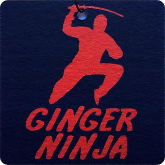 Ginger Ninja Car Air Freshener