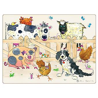 I Style Farmyard Placemats, Set of 4