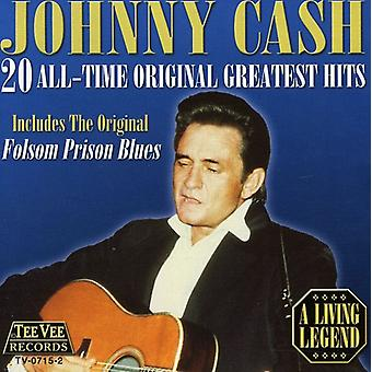 Johnny Cash - 20 alle tid oprindelige Greatest Hits CD] USA import