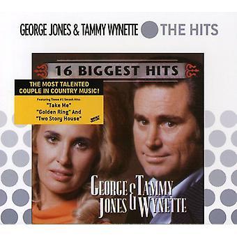 Jones/Wynette - 16 grootste Hits [CD] USA import