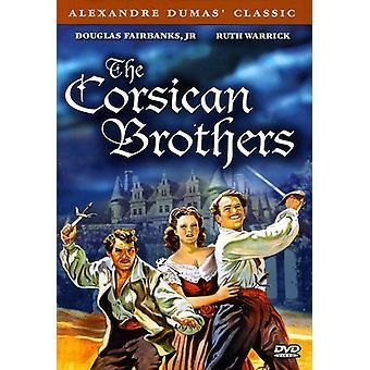 Den korsikanske Brothers [DVD] USA importerer