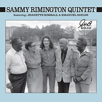 Rimington kvintet, Sammy - Sammy Rimington Quintet [CD] USA import