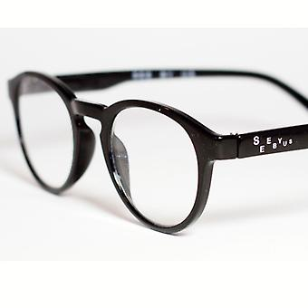 See By Us Reading Glasses Toulouse Shiny Bl.