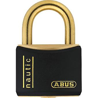 ABUS Nautic Brass padlock 20 mm Black Blister T84Mb / 20