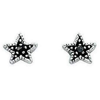 925 Silver Stars Earring
