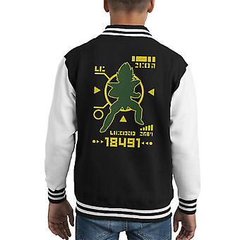 Dragon Ball Z Saiyan Power Over Varsity Jacket 18000 capretto