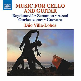 Bogdanovic / Lobos - Music for Cello & Guitar [CD] USA import