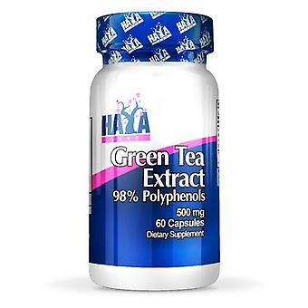 Haya Labs Green Tea Extract 500mg 60 Capsules (Desporto , Termogênicos)