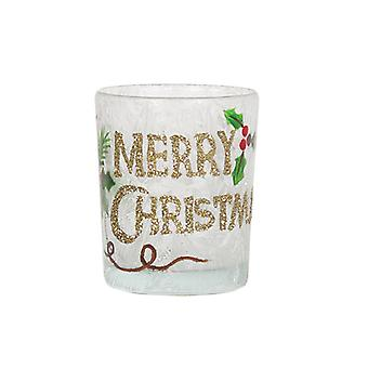 Aroma Merry Christmas Votive Halter