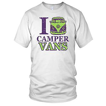 Ich liebe Camper Vans Split Screen VW Kinder T Shirt
