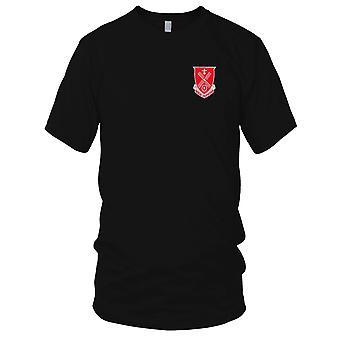 Batallón de Ingeniero - 52 de Estados Unidos Ejército bordado parche - para hombre T Shirt