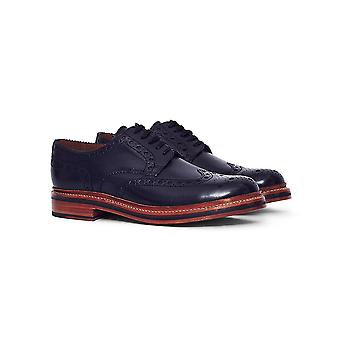 Grenson Archie Leather Brogue Black