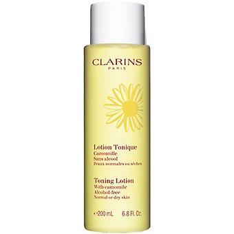 Clarins, Toning Lotion à la camomille pour la normale ou sèche la peau 200ml/6,8 oz