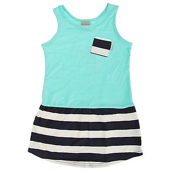 Bench Childrens/Girls Dramatic Marl Dress With Contrast Pocket