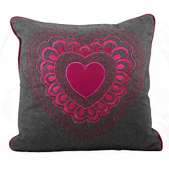 Riva Home Scandi Valentine Cushion Cover