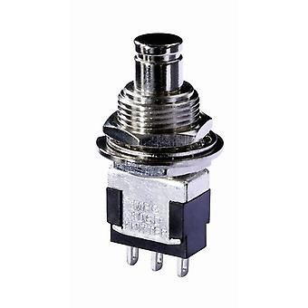 Pushbutton switch 250 Vac 3 A 1 x On/On Knitter-Switch