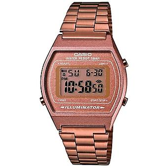 Casio Collection dames rétro Digital Watch - bronze (numéro de modèle B640WC-5AEF)