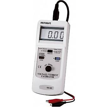 VOLTCRAFT CC-421 Calibrator Amperage, Voltage Calibrated to Manufacturer's standards (no certificate)