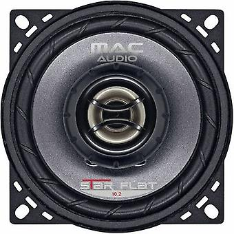 2 way coaxial flush mount speaker kit 200 W Mac Audio STAR FLAT 10.2