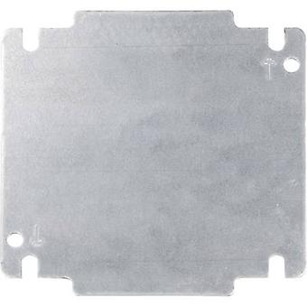 Schroff 32405-024 Mounting Plate For INLINE Wall-housing (L x W) 131 mm x 131 mm Metal