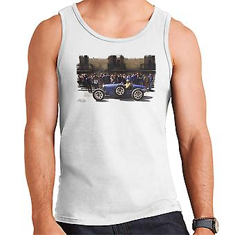 Bugatti Type 3 Racing Car White Men's Vest
