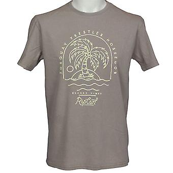 Rip Curl Mens T-Shirt ~ Arty colorant froid