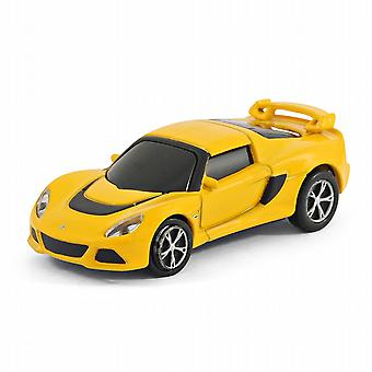 Lotus Exige S coche USB Memory Stick Flash Drive 8Gb - amarillo