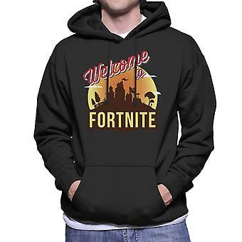 Willkommen bei Fortnite Männern der Sweatshirt mit Kapuze
