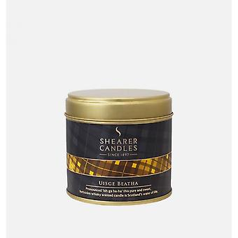 Shearer Candles Collection Highland Uisge Beatha Tin bougie