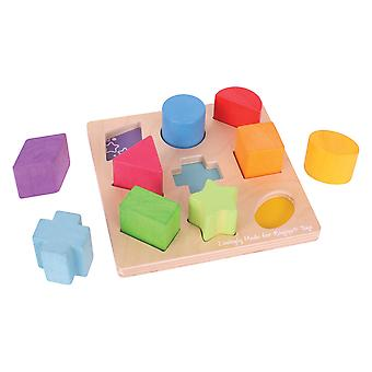 Bigjigs Toys My First Wooden Shape sorter