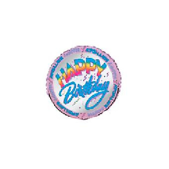 Folie-Ballon HAPPY BIRTHDAY