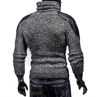 MC Grobstrick pullover sweater pullover sweat jacket Sweatshirt Knitting Tube Collar