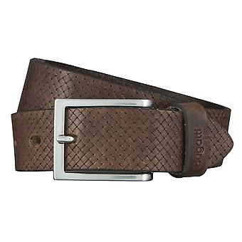 Di Bugatti Cinture uomo in pelle Cinture cinture in pelle grigio cintura 4437