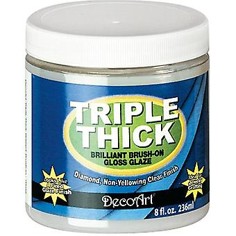 Triple Thick Brilliant Brush-On Gloss Glaze 8oz