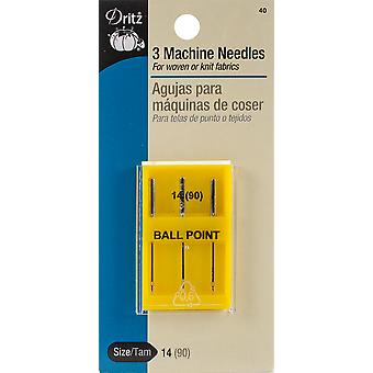 All Fabric Machine Needles-Size 14/90 3/Pkg