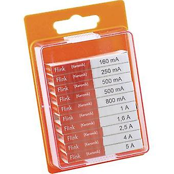 ESKA 120950 Micro fuse set (Ø x L) 5 mm x 20 mm quick response F- Content 100 pc(s)