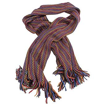 Bassin and Brown Bates Birdseye Scarf - Red/Gold