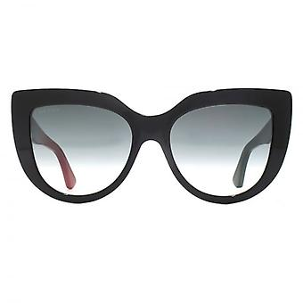 Gucci Oversize Cateye Sunglasses In Black