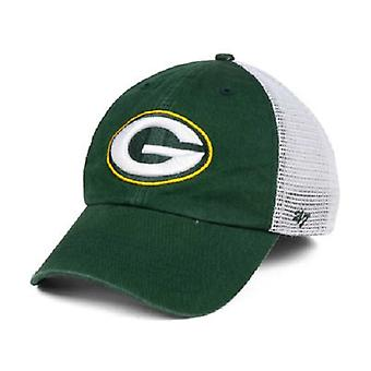 Green Bay Packers NFL 47 Brand Mesh Closer Stretch Fitted Hat