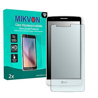 LG D725 Screen Protector - Mikvon Clear (Retail Package with accessories)